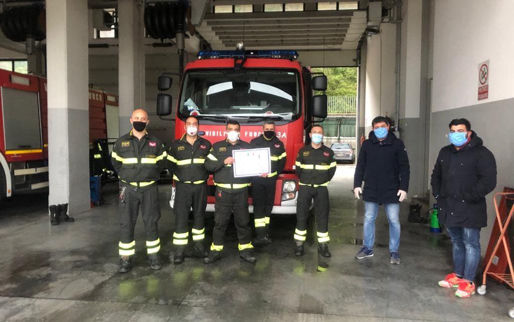 """Le associazioni """"Simpatia Staff"""" e """"Lorenzo Saggese"""" hanno consegnato a Cassino i Kit"""