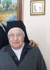 Sora, città in lutto per la scomparsa di Suor Nicolina