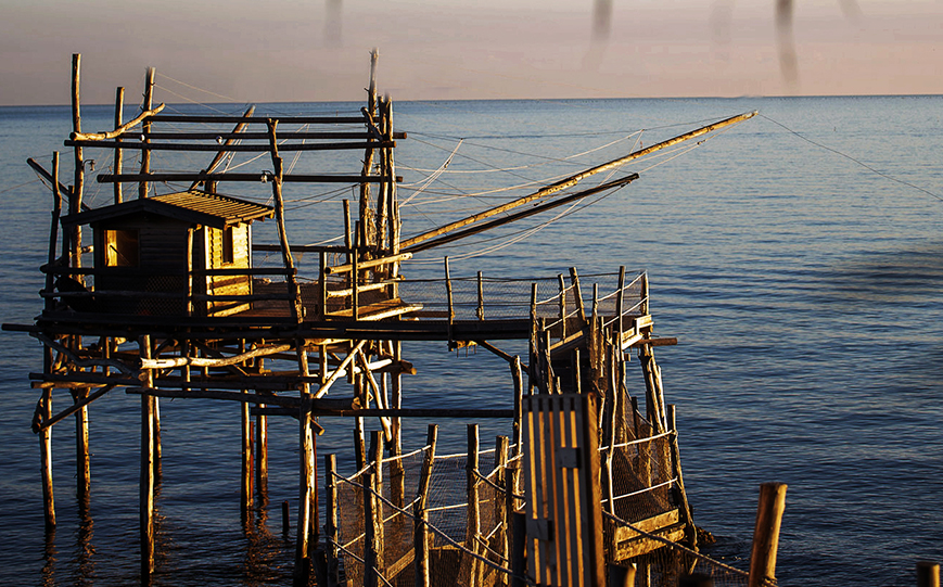 #iorestoacasa. I trabocchi dell'Abruzzo.