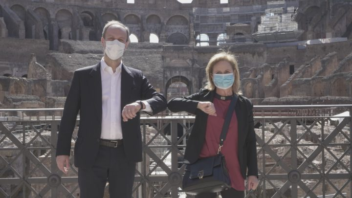 Il Parco archeologico del Colosseo e la ASL Roma 1 uniti per la riapertura in sicurezza. Firmato il protocollo d'intesa.