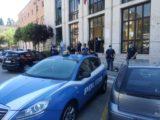 Cassino, il mercato trasloca in centro, gli ambulanti protestano in piazza De Gasperi. Momenti di tensione