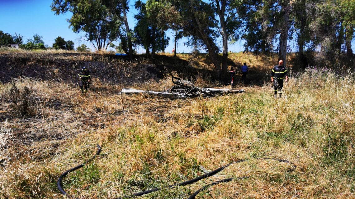 Incidente aereo a Nettuno, due morti carbonizzati