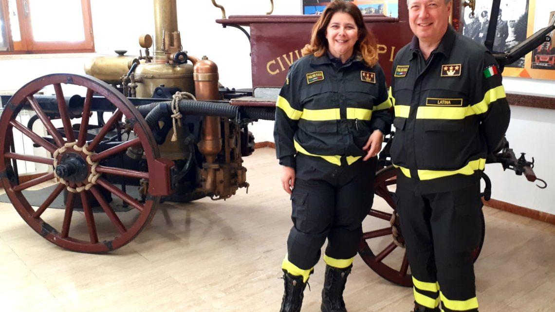 Cambio al comando dei vigili del fuoco di Latina, Smaniotto subentra a Modesto