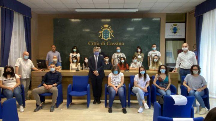 Cassino – 40 giovani iniziano oggi il servizio civile, saranno impegnati in 5 progetti