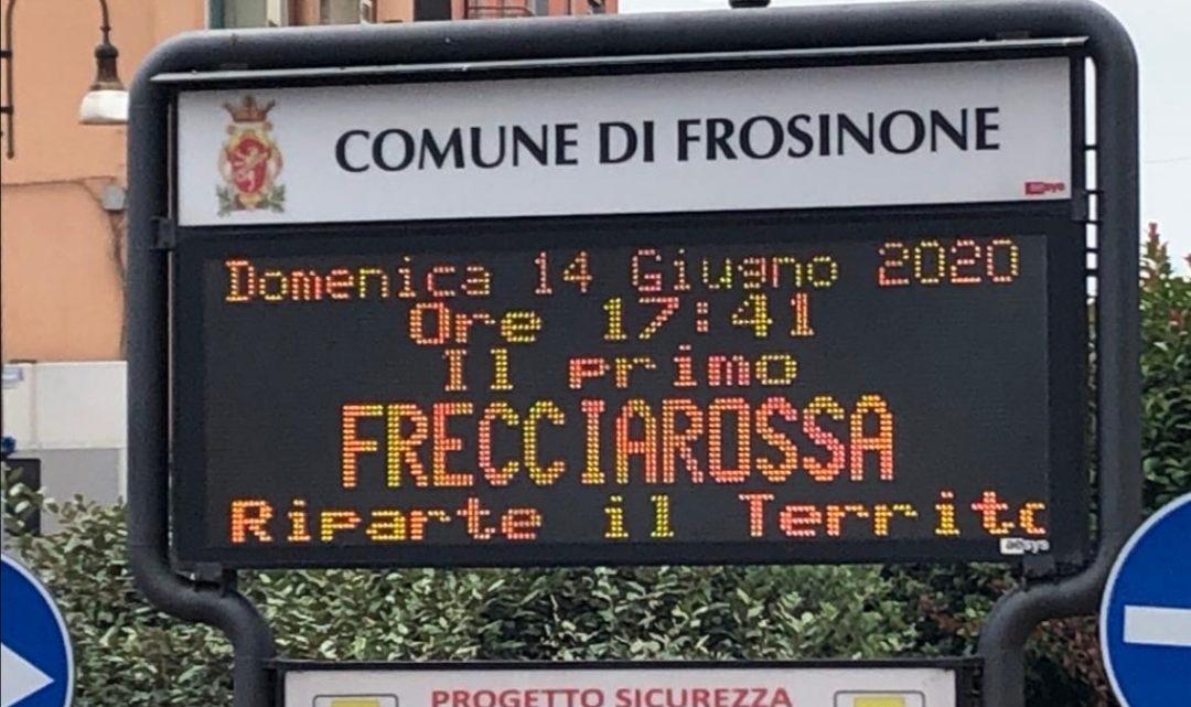 Frosinone, grande attesa in città per il Frecciarossa