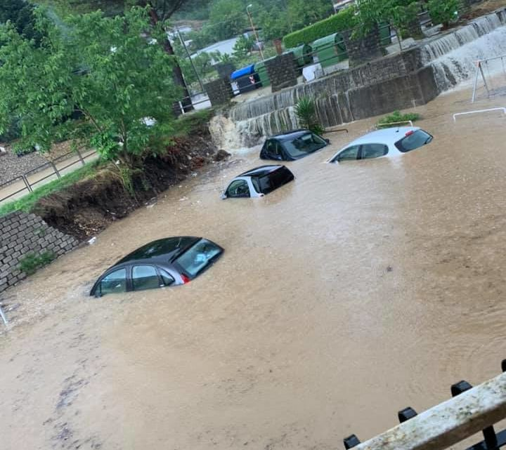 Maltempo, ponti crollati frane e allagamenti nella Valle dei Santi e nel Cassinate