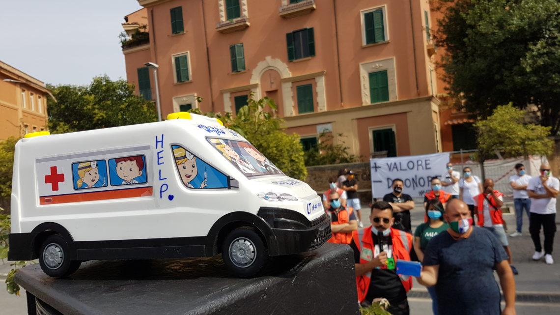 I soccorritori del 118 in lotta per diritti non riconosciuti, Elcani (Confail): basta con gli sprechi