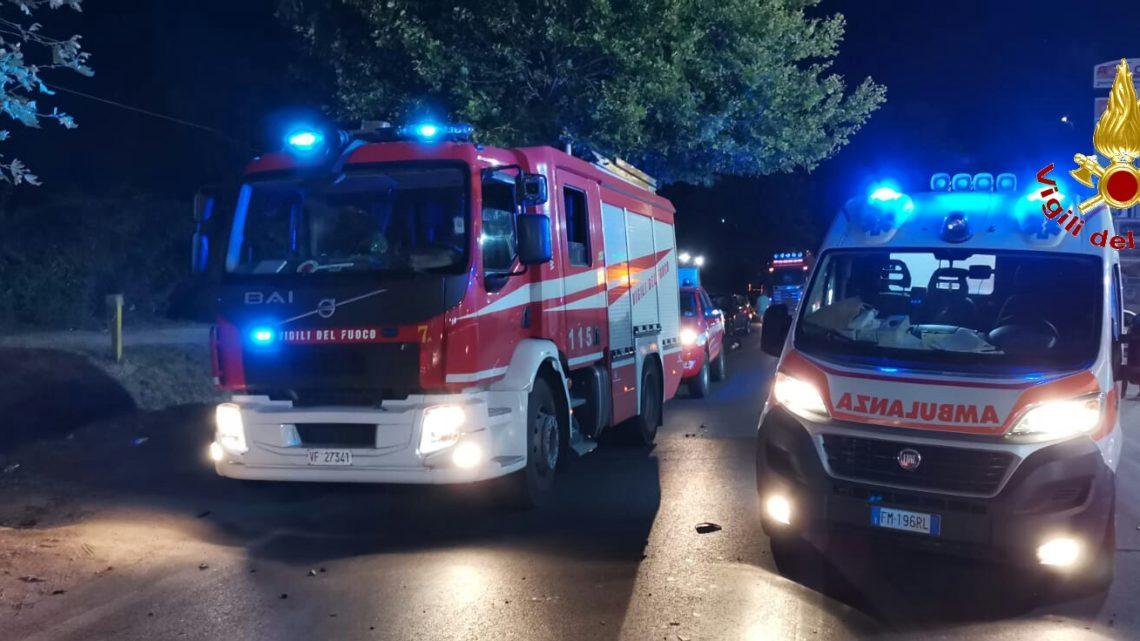 Incidente stradale sulla provinciale tra Santa Maria Capua Vetere e Teverola
