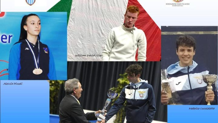 La Lazio scherma riparte dagli azzurrini 2020