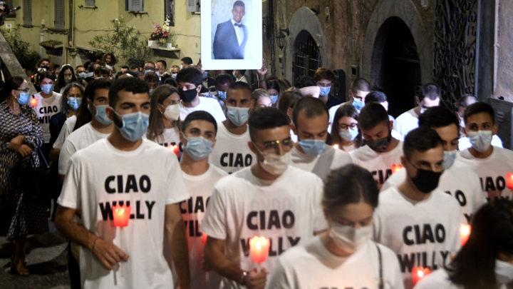I funerali di Willy Monteiro ad una settimana dall'omicidio