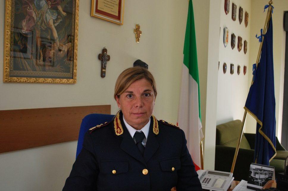 Giovanna Salerno è il nuovo dirigente del commissariato di polizia di Cassino