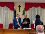 Piedimonte San Germano – Il vescovo Antonazzo in Comune per la visita Pastorale