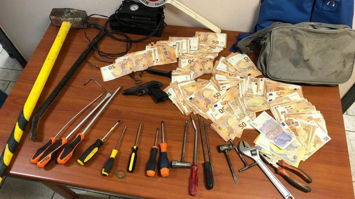 Furti in abitazione, tre arresti della Polizia Stradale di Frosinone
