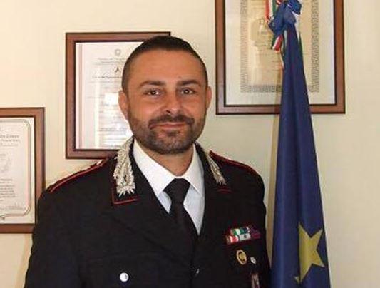 Il capitano Ivan Mastromanno lascia il comando della Compagnia Carabinieri di Cassino