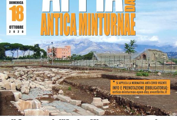 Appia day, visite gratuite nell'antica Minturnae l'11, 17, 18 ottobre