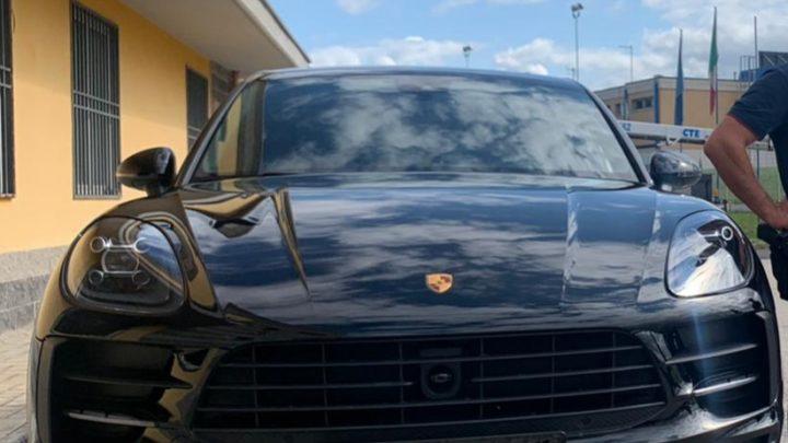 Recuperate dalla Polizia Stradale di Frosinone una Porsche ed una Fiat 500 rubate