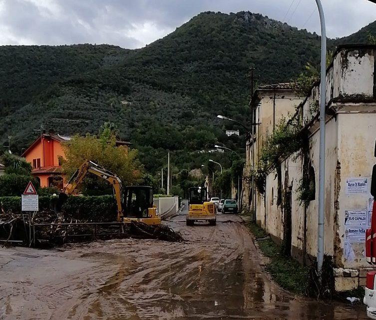 Maltempo nel Cassinate e in Valcomino, le squadre della provincia al lavoro dalle prime ore del mattino
