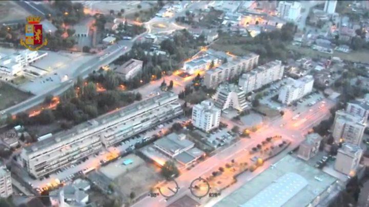 """Operazione """"Il cartello di via Bellini"""" della polizia, droga anche nel carcere di Frosinone"""