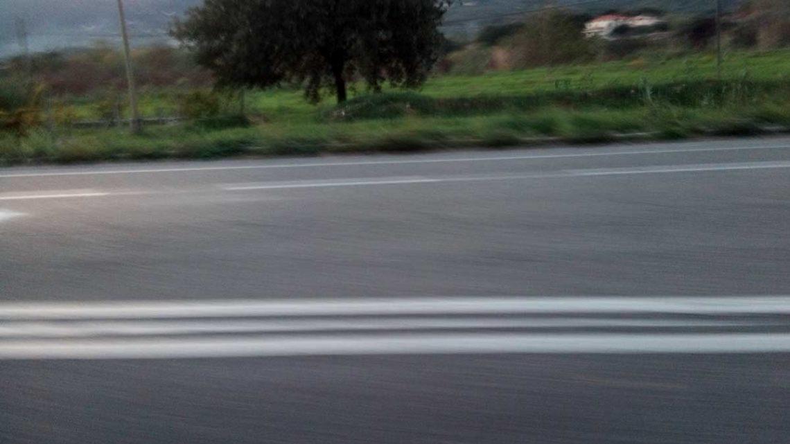 Cassino – Interventi di manutenzione stradale in via Santa Scolastica