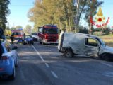 Tragico incidente stradale a Sabaudia, un morto e due feriti
