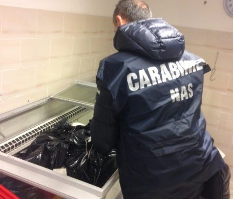 Sequestrati 300 chili di carne in un ristorante a Formia