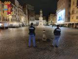 Prima notte di lockdown parziale a Roma, il bilancio della polizia: 800 persone controllate, 17 sanzionate