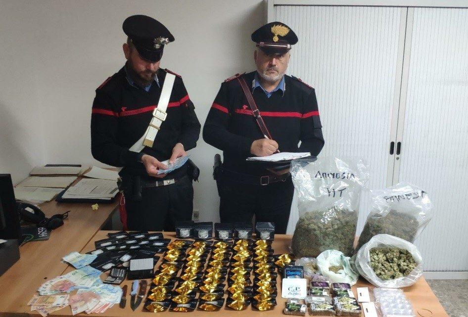Cisterna di Latina – In casa con quattro chili di stupefacenti, arrestato 25enne