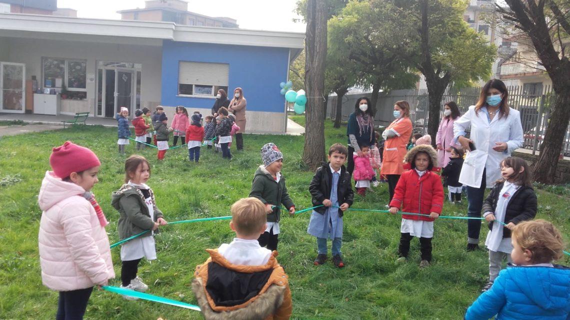 La festa dell'albero nelle scuole dell'infanzia di Cassino