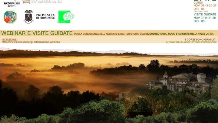 Ecomuseo Argil, un corso di formazione online alla scoperta della storia, dell'ambiente e del territorio