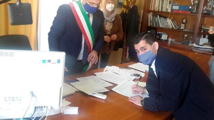 Cassino – Conferita la cittadinanza italiana ad un 27enne siriano