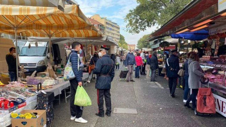 Venafro – I carabinieri tra i cittadini per le misure anticovid