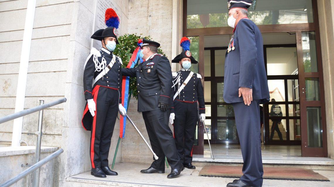 Frosinone – Deposta una corona in commemorazione dei Militari caduti in guerra e nel dopoguerra