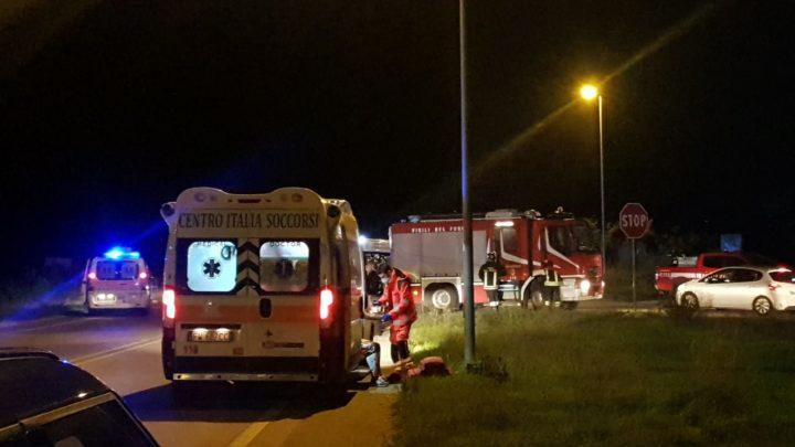 Incidente stradale tra due auto sulla Sp 630 in direzione di Formia