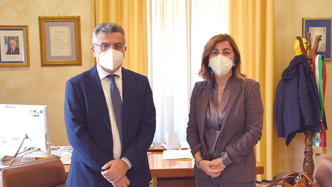 Cassino – Il sindaco Salera incontra in Comune la neo direttrice della Asl