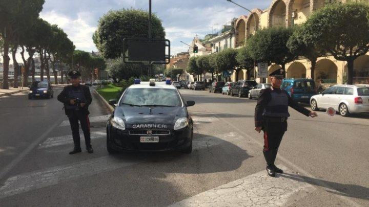 Positivo al covid circolava in auto, denunciato 46enne a Gaeta