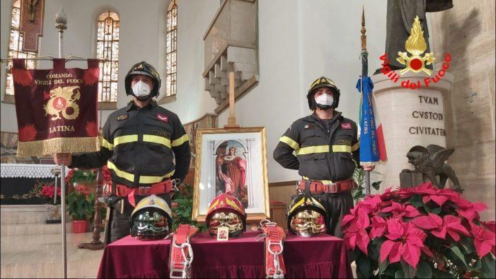 Vigili del Fuoco e Guardia Costiera festeggiano la patrona Santa Barbara