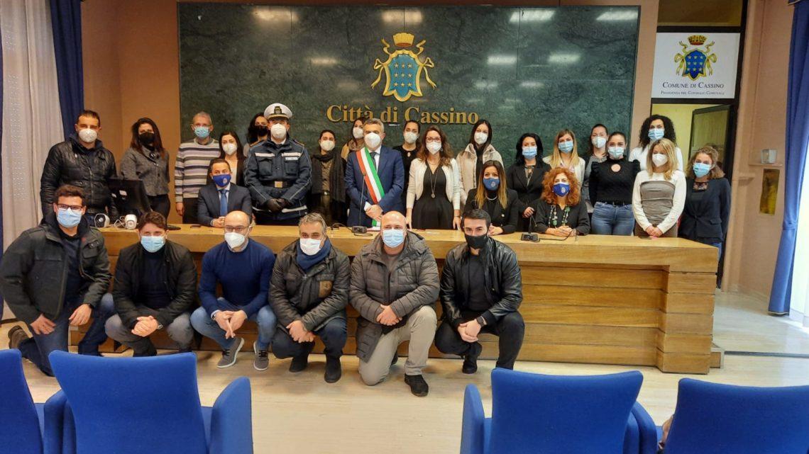 Cassino – Giurano in Comune i 24 neo assunti