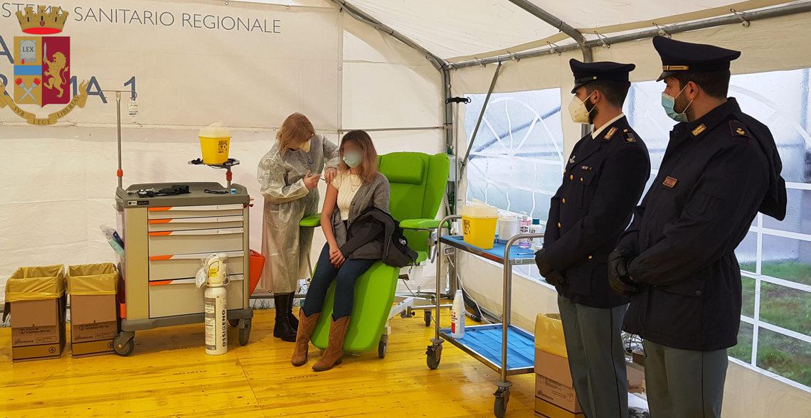 Arrivano le prime vaccinazioni presso ASL RM1/Santa Maria della Pietà a Roma