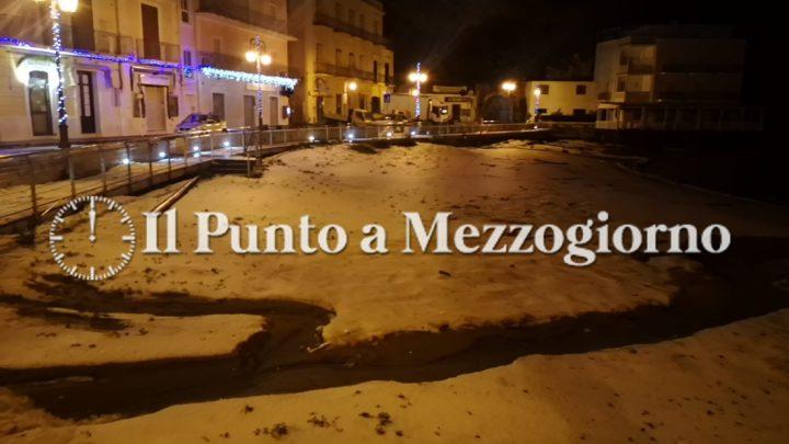 Fulmini e grandine su Ponza, una tempesta si abbatte sull'isola e la paralizza – FOTO E VIDEO