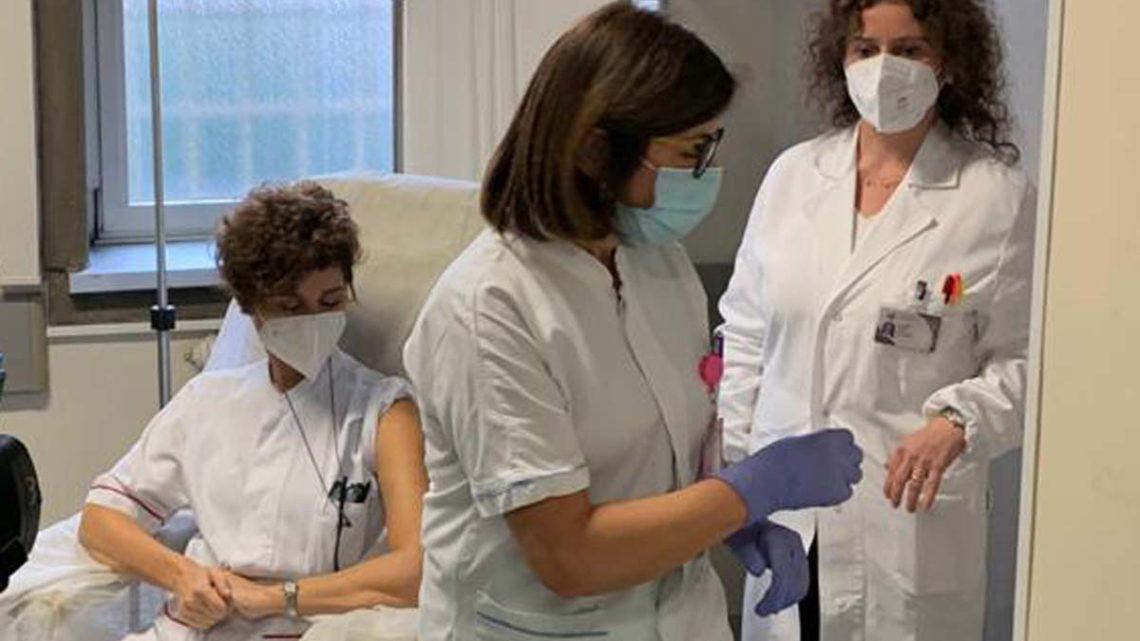Covid, primo giorno del 2021 con 575 vaccini effettuati nella Asl di Frosinone