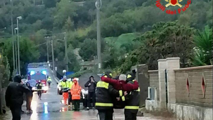 Allerta meteo a Formia, sgomberate 70 persone