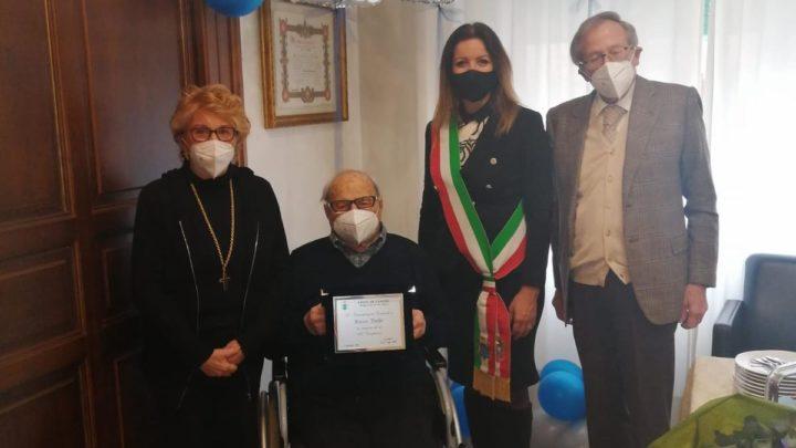 Cassino – Rocco Trelle compie cento anni