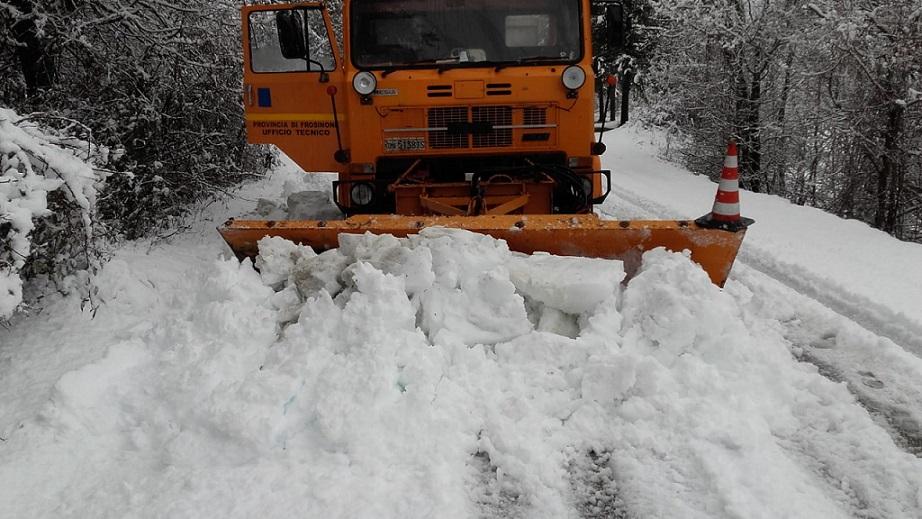 Maltempo, neve al nord e sulle zone appenniniche centrosettentrionali