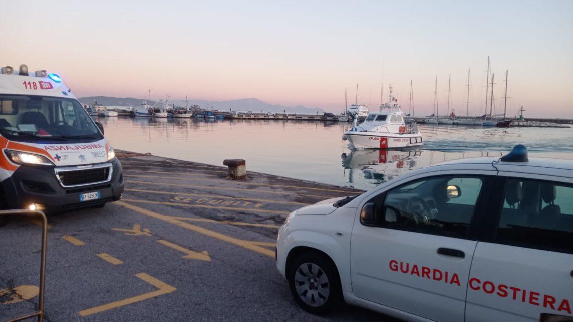 La Guardia Costiera di Gaeta soccorre 55enne colto da malore