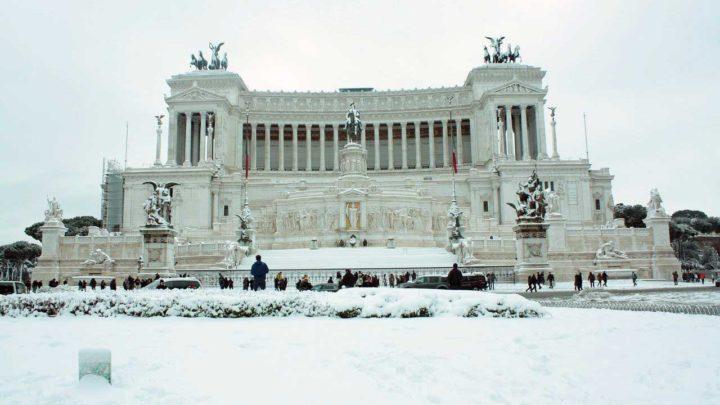 La neve a Roma nel Lazio, meteorologo spiega quando e se accadrà
