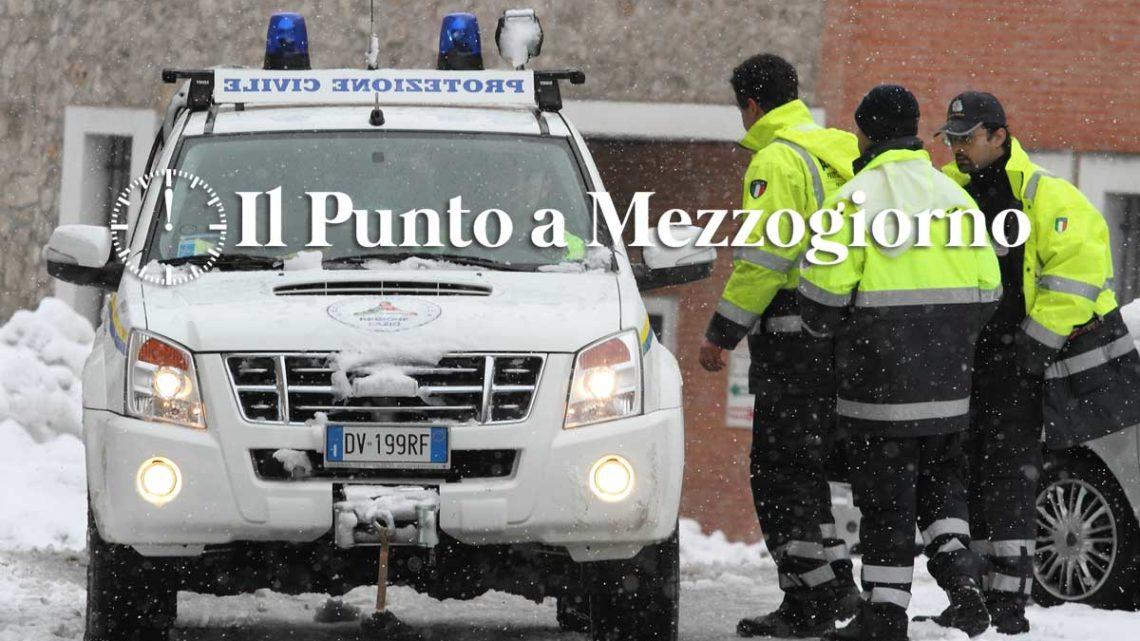 Protezione Civile Lazio: Nevicate a quote superiori agli 800-1000 metri sui settori appenninici nord-orientali