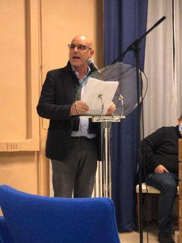 Il consigliere comunale Fabio Vizzacchero