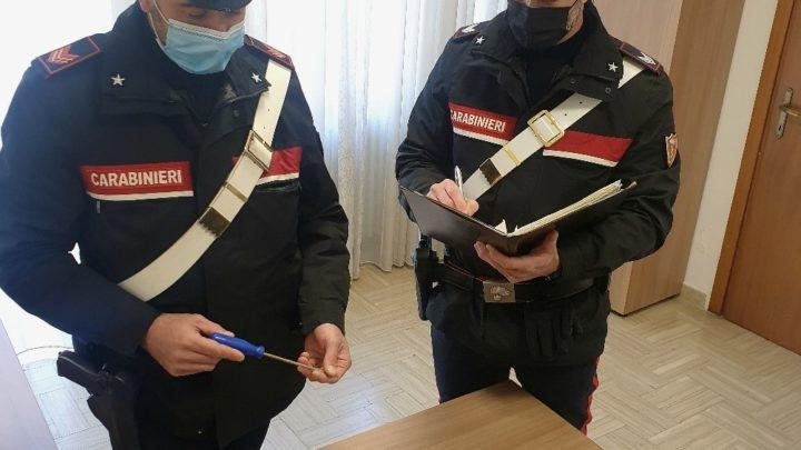 Pontecorvo – Ladri in appartamento, i carabinieri ne arrestano uno