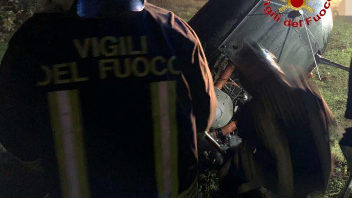 Precipita elicottero tra Formicola e Pontelatone, muore una donna