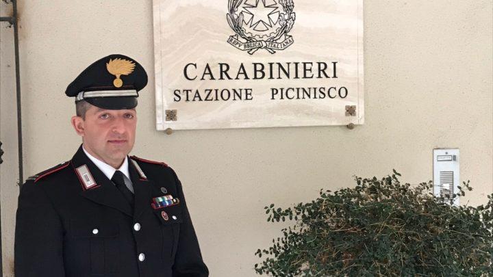 Picinisco – Si insedia il comandante della stazione dei carabinieri Martino Francesco